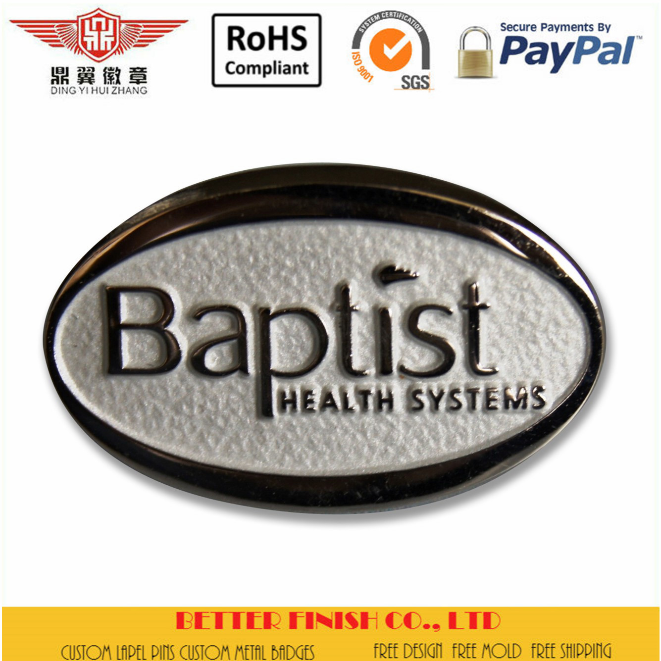 Baptist Healthy Pins